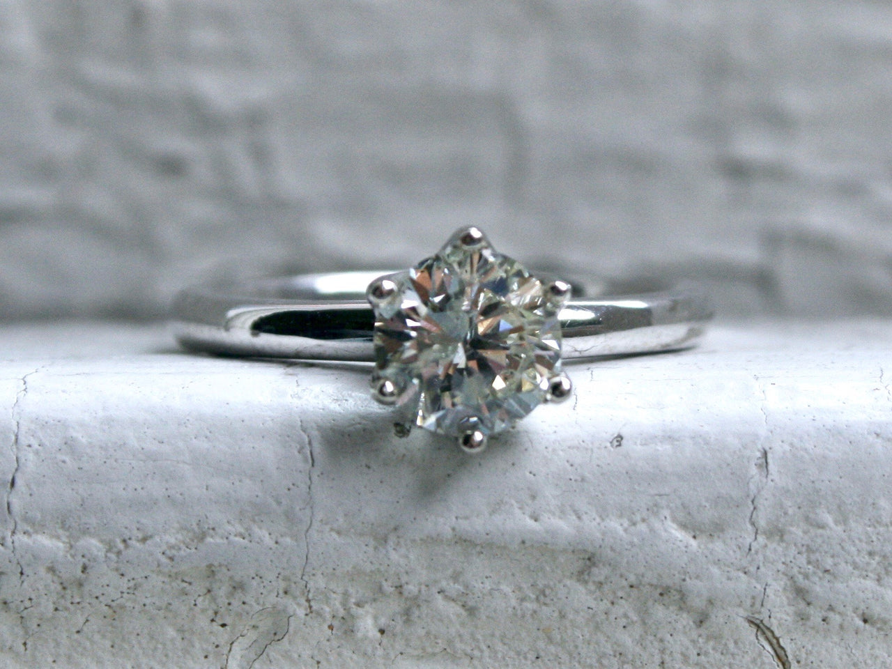 Classic Diamond Solitaire - 1.00ct.
