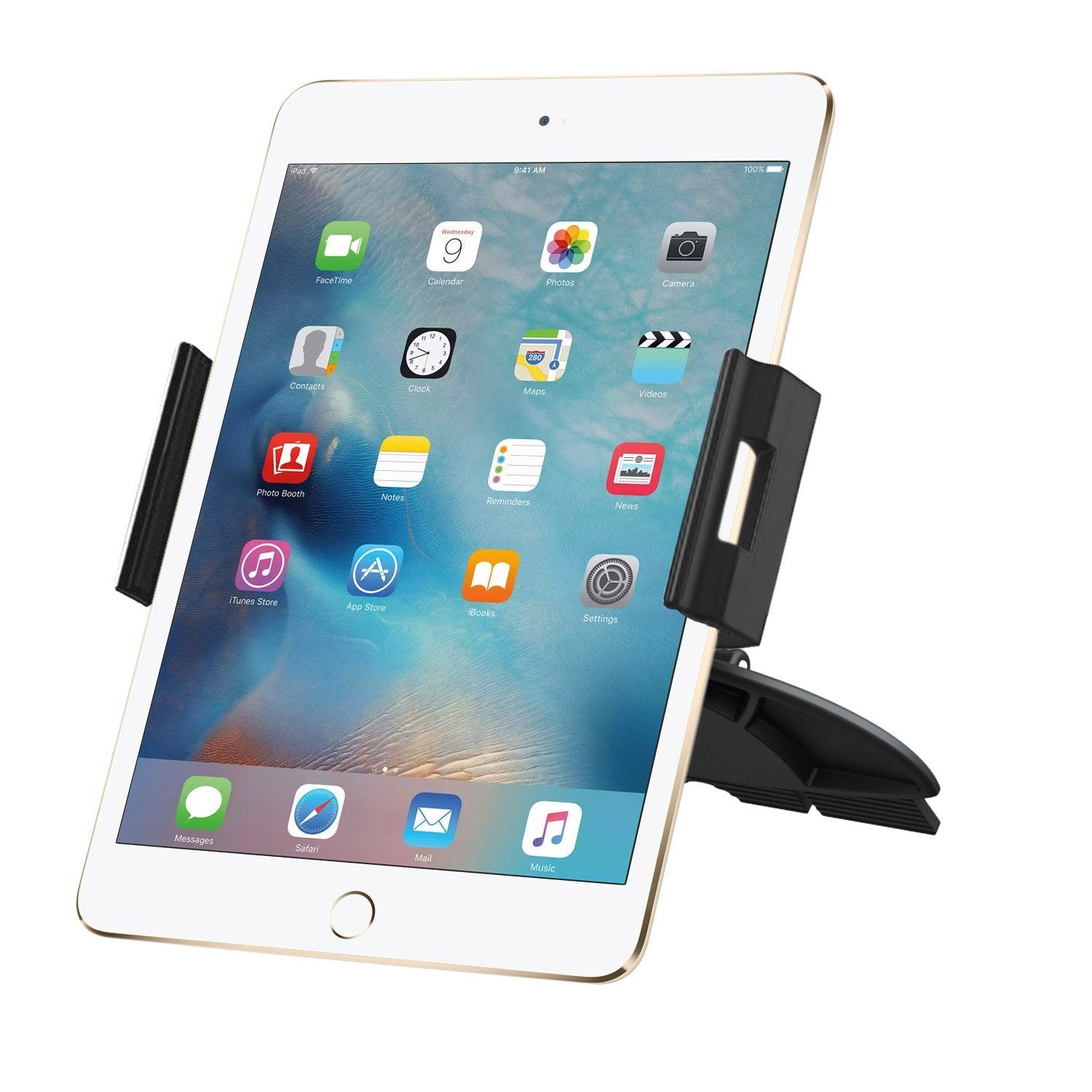 Universal Car CD Slot Mount Holder Stand Cradle For Apple iPad Mini iPad Pro