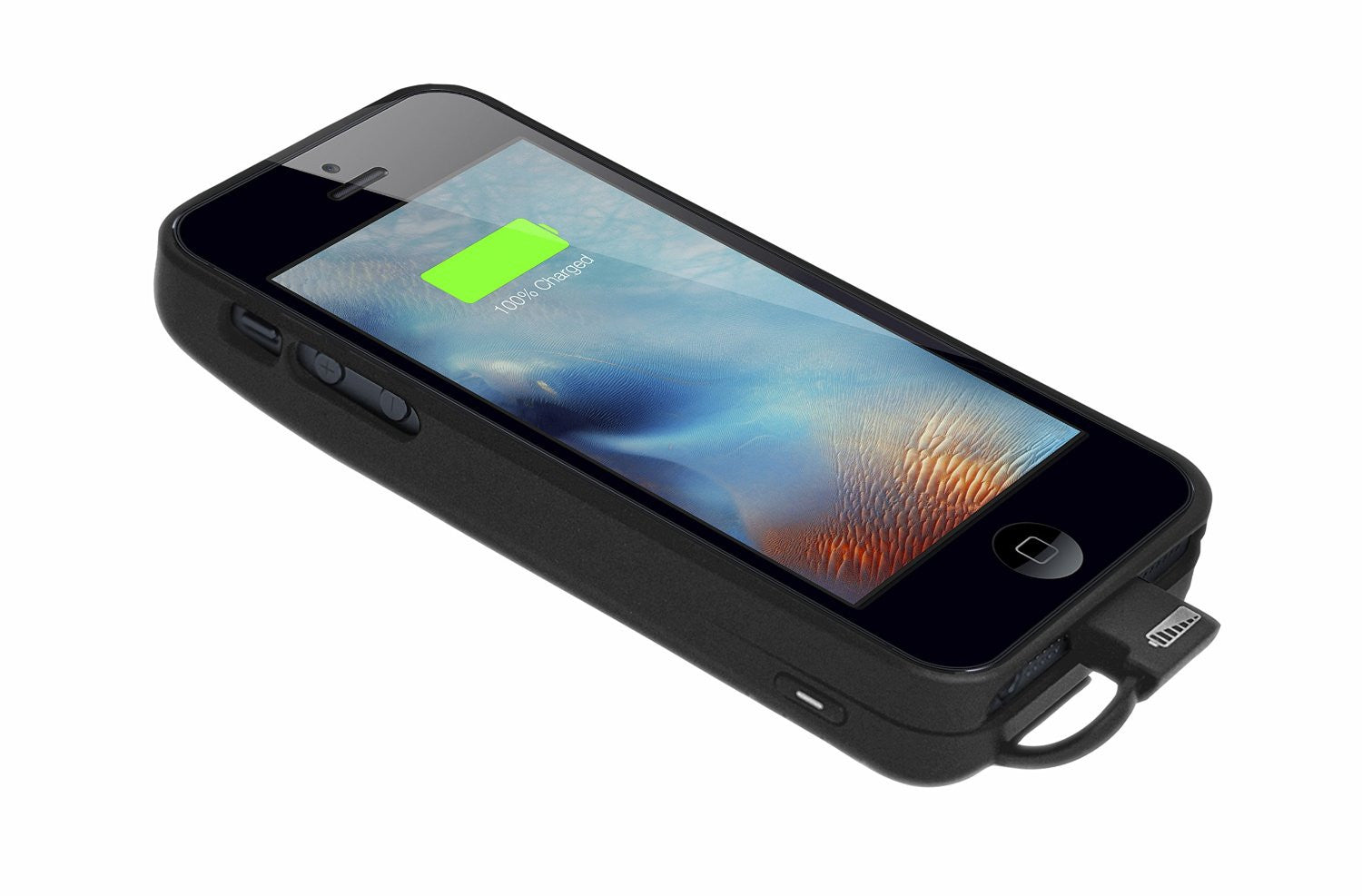 new product b38cd 0d6b8 [Apple MFi Certified] Skiva PowerFlow 2000mAh iPhone SE / 5s Portable  Charger External Rechargeable Protective Juice Power Bank Pack Cover (AP104)