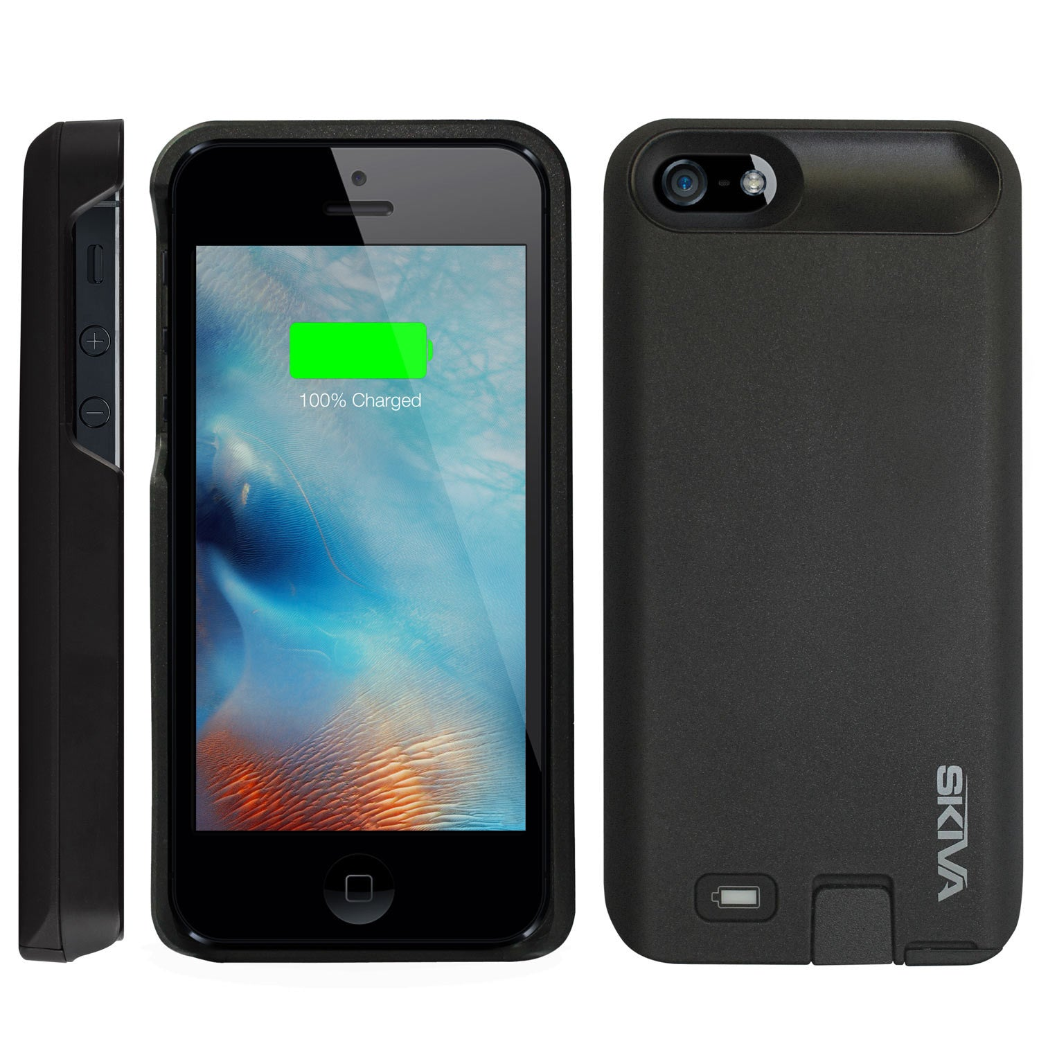 huge selection of 55a10 a17eb [Apple MFi Certified] PowerFlow iPhone SE/5S/5 Battery Case (AP120)