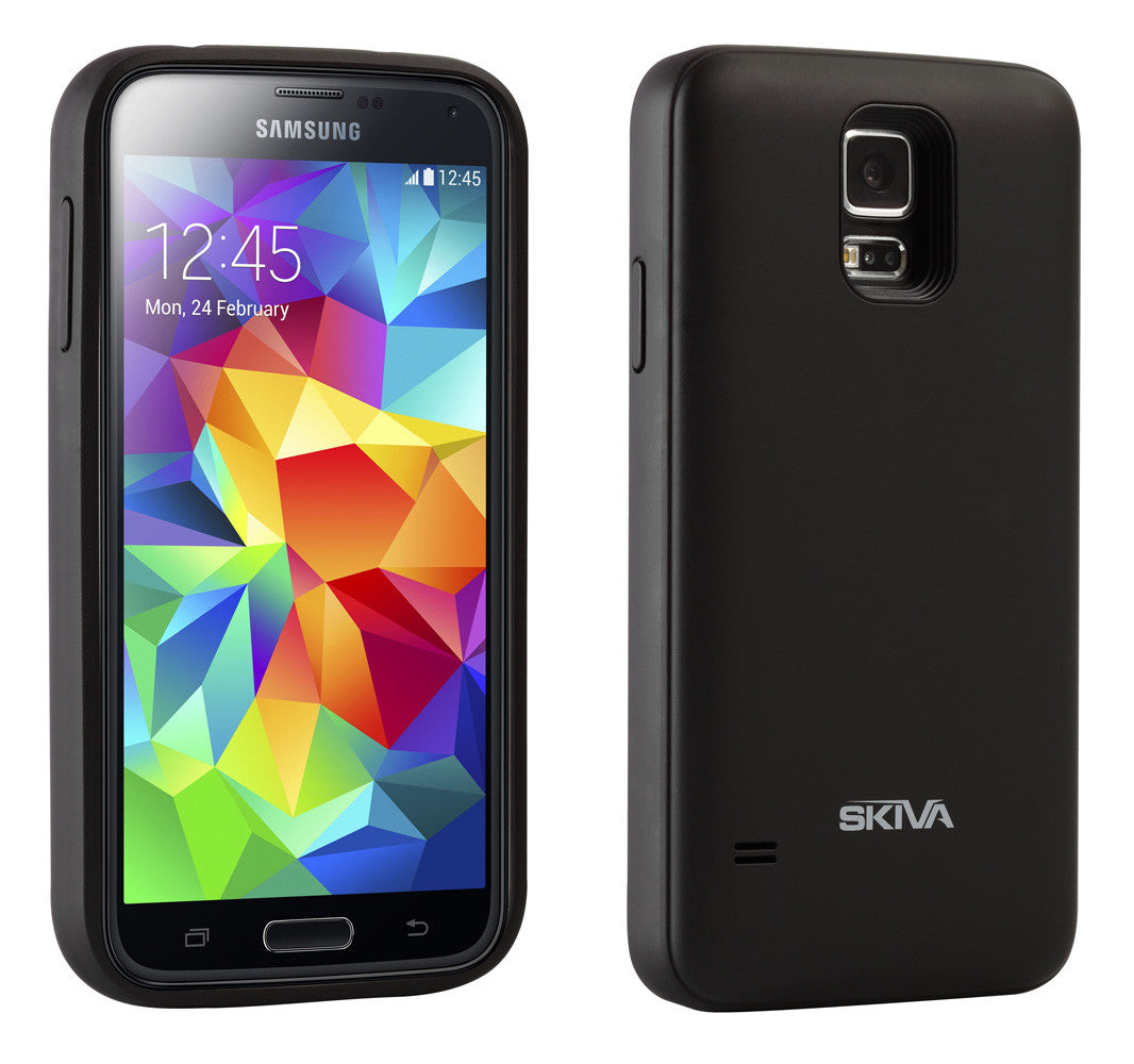 best authentic e7d8c 8295a PowerFlow 2400mAh Samsung Galaxy S5 Battery Case (AP109)