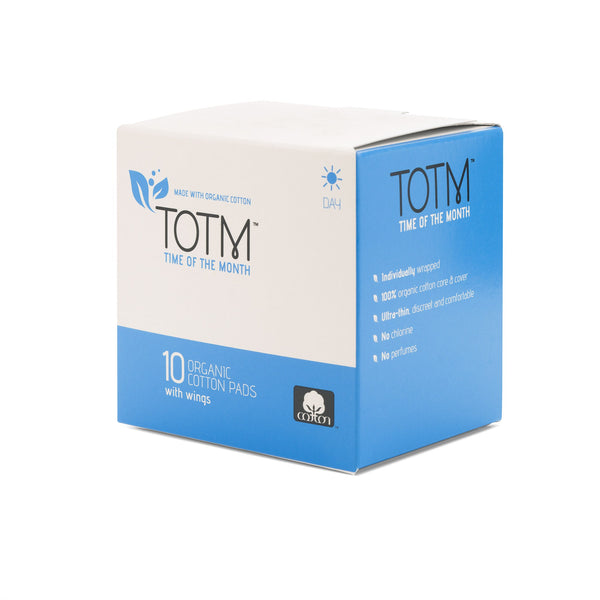 TOTM Organic Cotton Pads - Day
