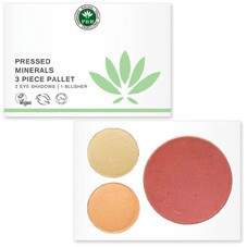 PHB Pressed Mineral 3 Piece Palette: Nudes