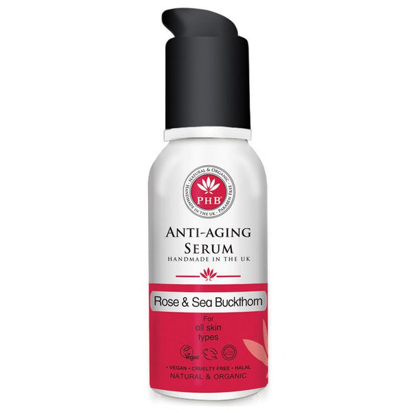 Anti-Aging Gel Serum with Organic Rose & Sea Buckthorn - Vanity Bites