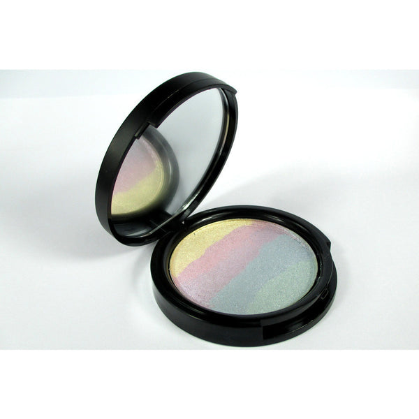 vegan and natural rainbow highlighter