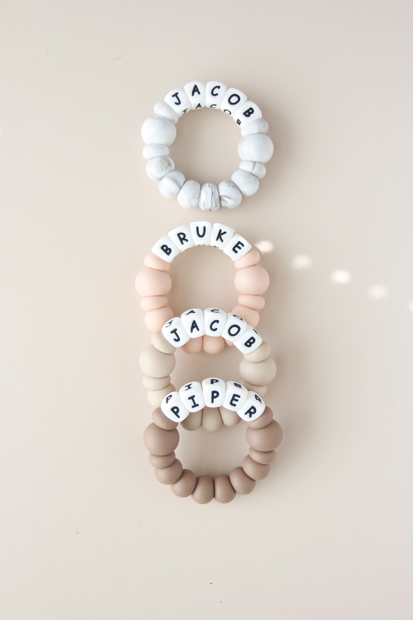 Personalized Silicone Teething Toy - Niblle