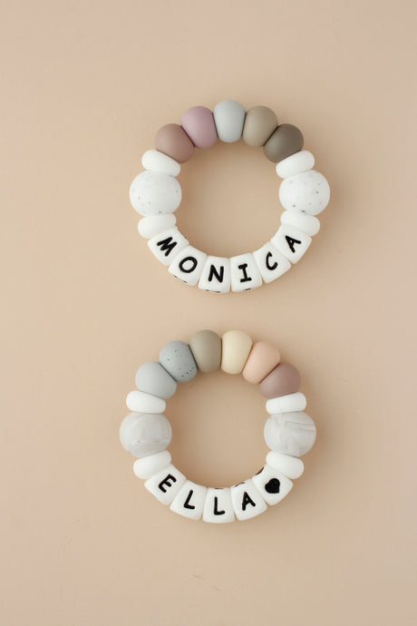Personalized Silicone Teething Toy - Kayla