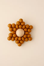 Silicone + Wood Star Toy - Speckle