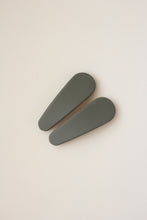 Snap Matte Clip Set Of 2 - Seashell, Rust, Earth