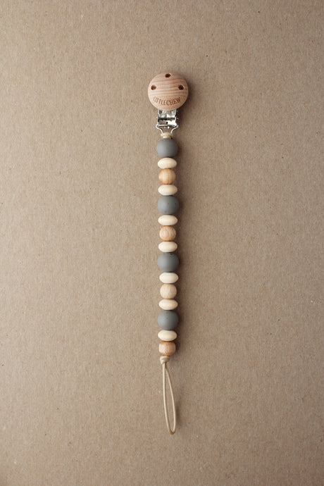 Pacifier Clip - Amor | Speckled Onyx