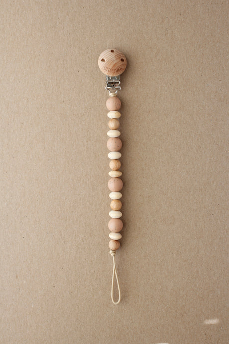 Pacifier Clip - Amor | Speckled Dusty Coral