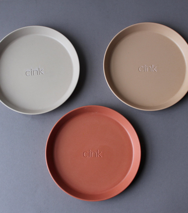 CINK - Bamboo Plate 3-Pack