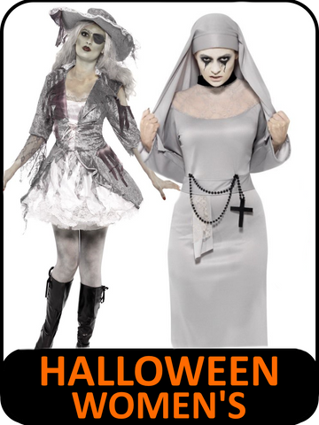 Women's Halloween Fancy Dress Costumes
