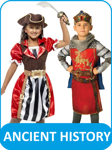 Children's Ancient History Fancy Dress Costumes