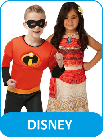 Children's Disney Fancy Dress Costumes