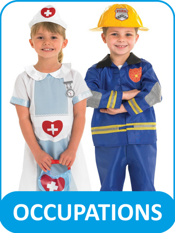 Children's Occupations Fancy Dress Costumes