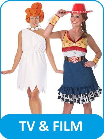 Women's TV & Film Fancy Dress Costumes
