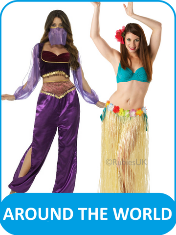 Women's Around the World Fancy Dress Costumes