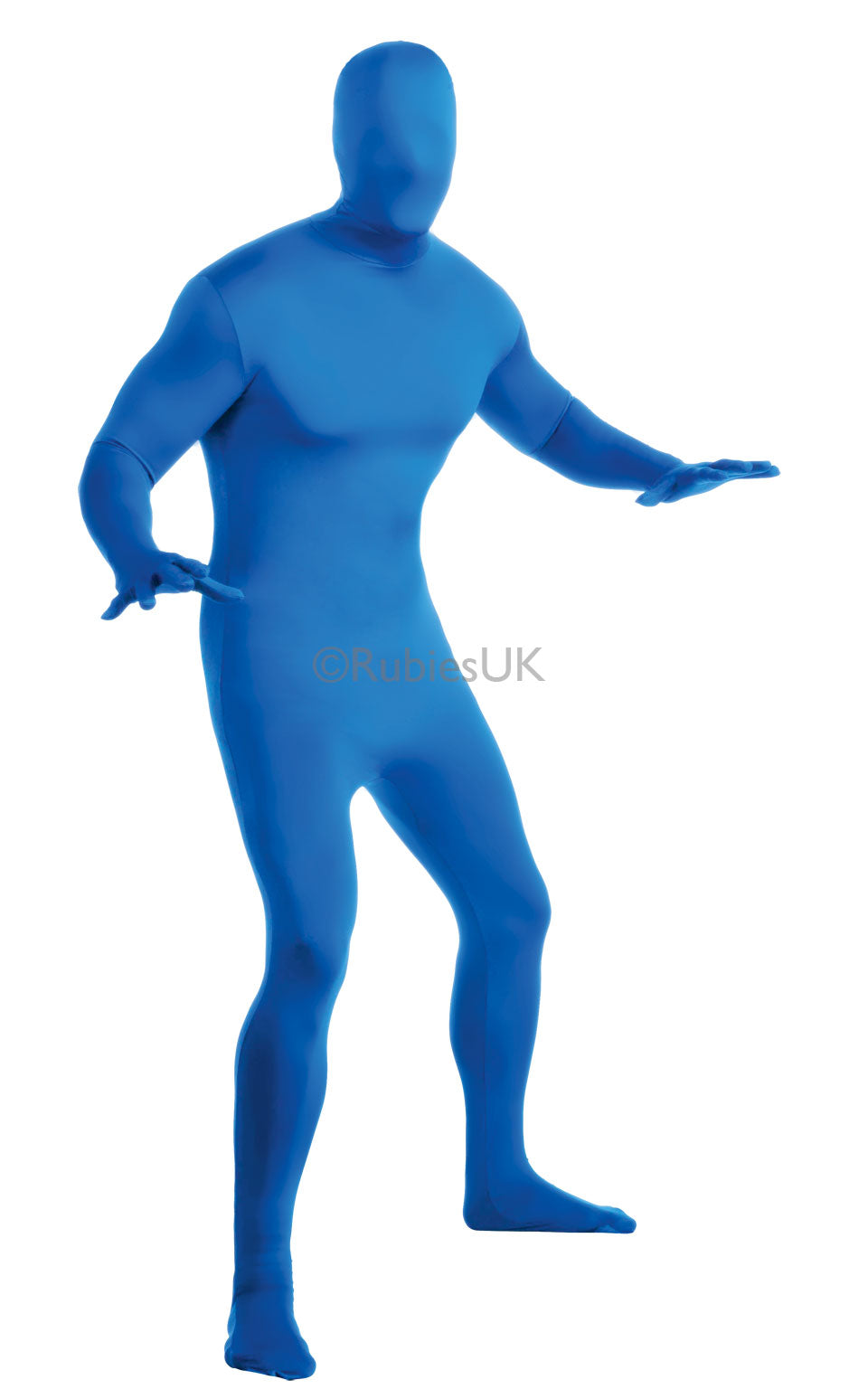 BLUE 2ND SKIN SUIT