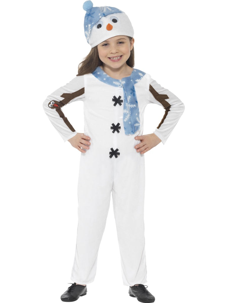 Toddlers Snowman Costume