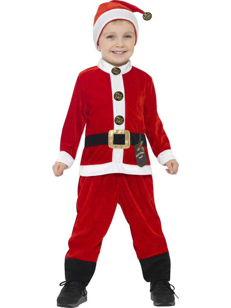 Toddlers Santa Costume