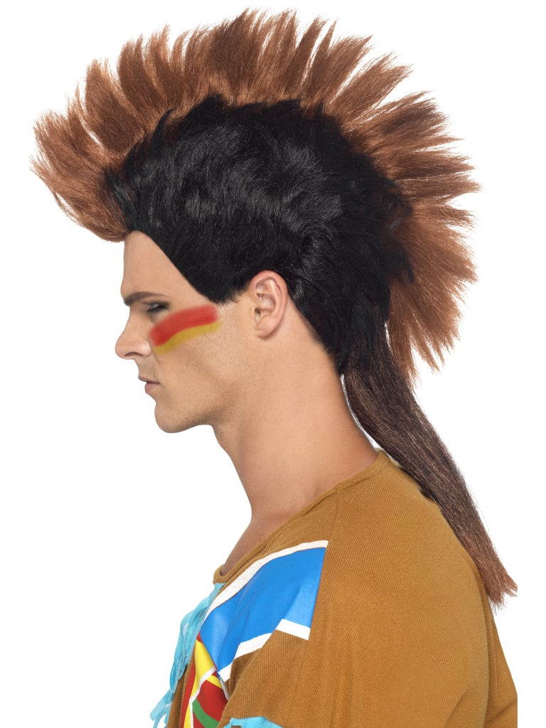 Native American Mohican Wig