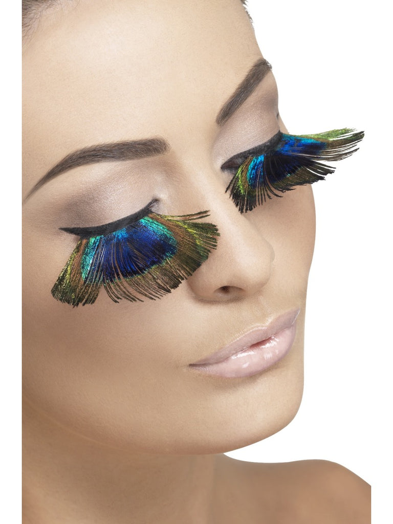 Fever Eyelashes - Peacock Feathers