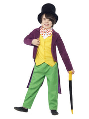 Roald Dahl Willy Wonka Fancy Dress Costume