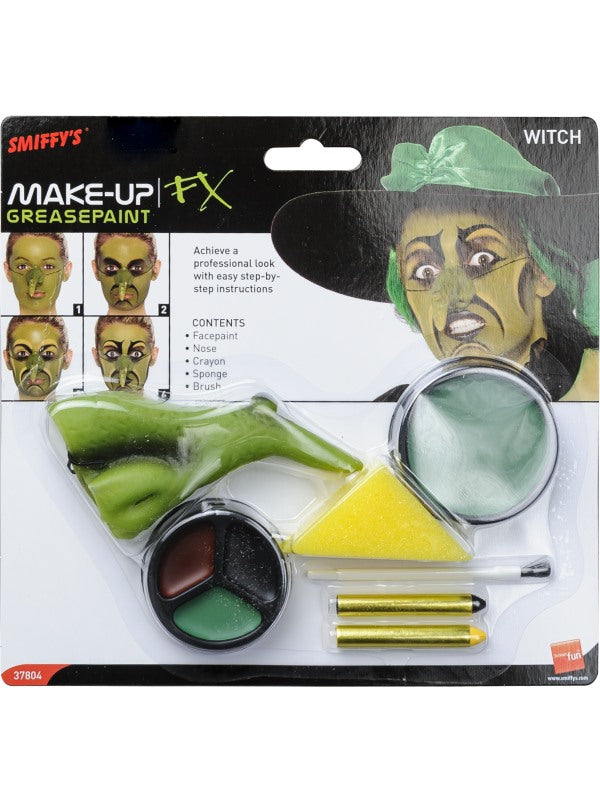 ADULT HALLOWEEN MAKE UP KIT- WITCH