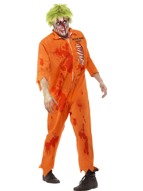 ZOMBIE DEATH ROW INMATE COSTUME
