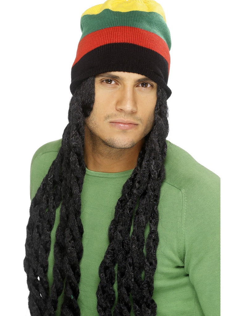 Rasta Hat with Long Deadlocks