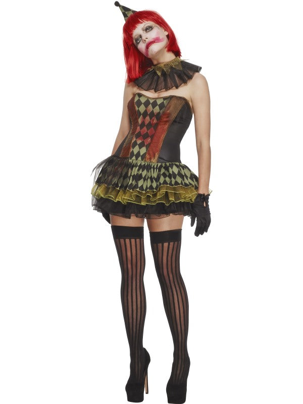 FEVER CREEPY ZOMBIE CLOWN COSTUME