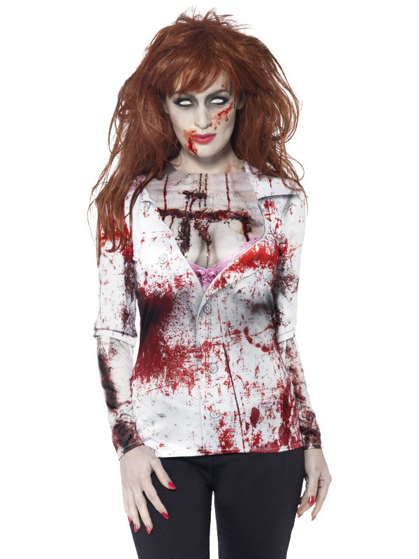 FEMALE ZOMBIE T SHIRT