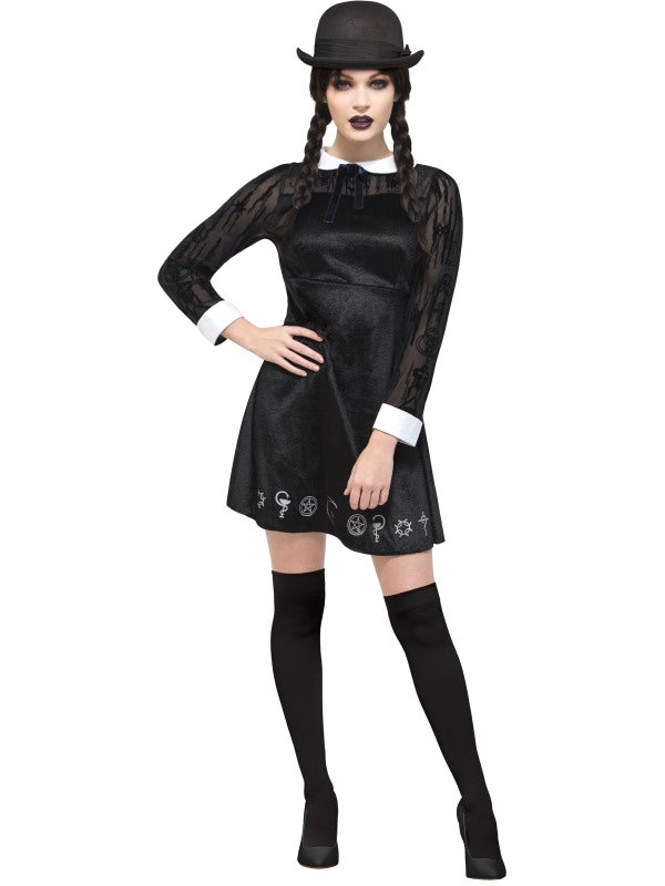 FEVER DELUXE GOTHIC SCHOOL GIRL COSTUME