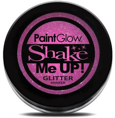 UV Glitter Shaker! Face & Body Paint- Pink 5g