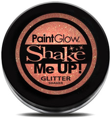 UV Glitter Shaker! Face & Body Paint- Peach 5g