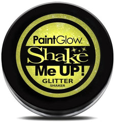 UV Glitter Shaker! Face & Body Paint- Yellow 5g