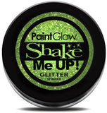 UV Glitter Shaker! Face & Body Paint-Green  5g