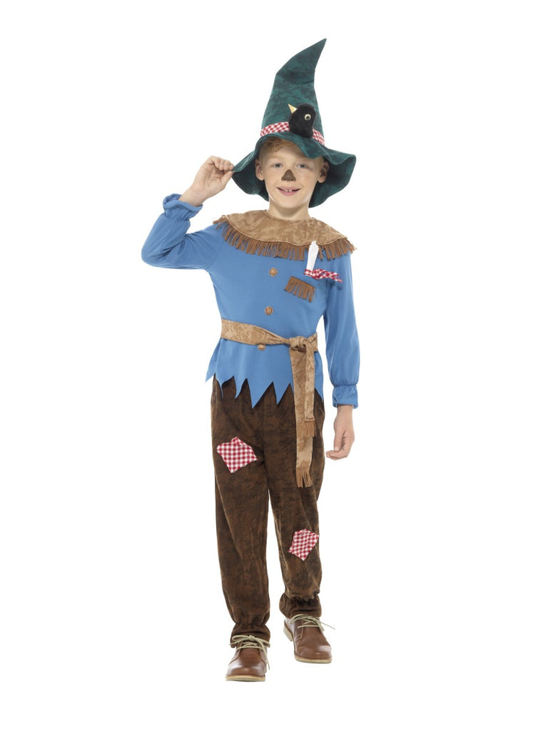 Patchwork Scarecrow Fancy Dress Costume