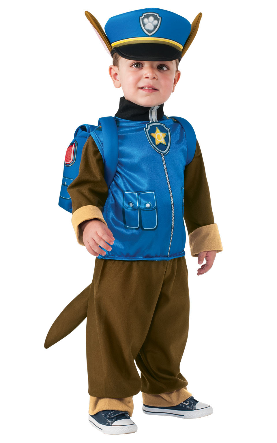 PAW PATROL (CHASE) Children's Fancy Dress Costume
