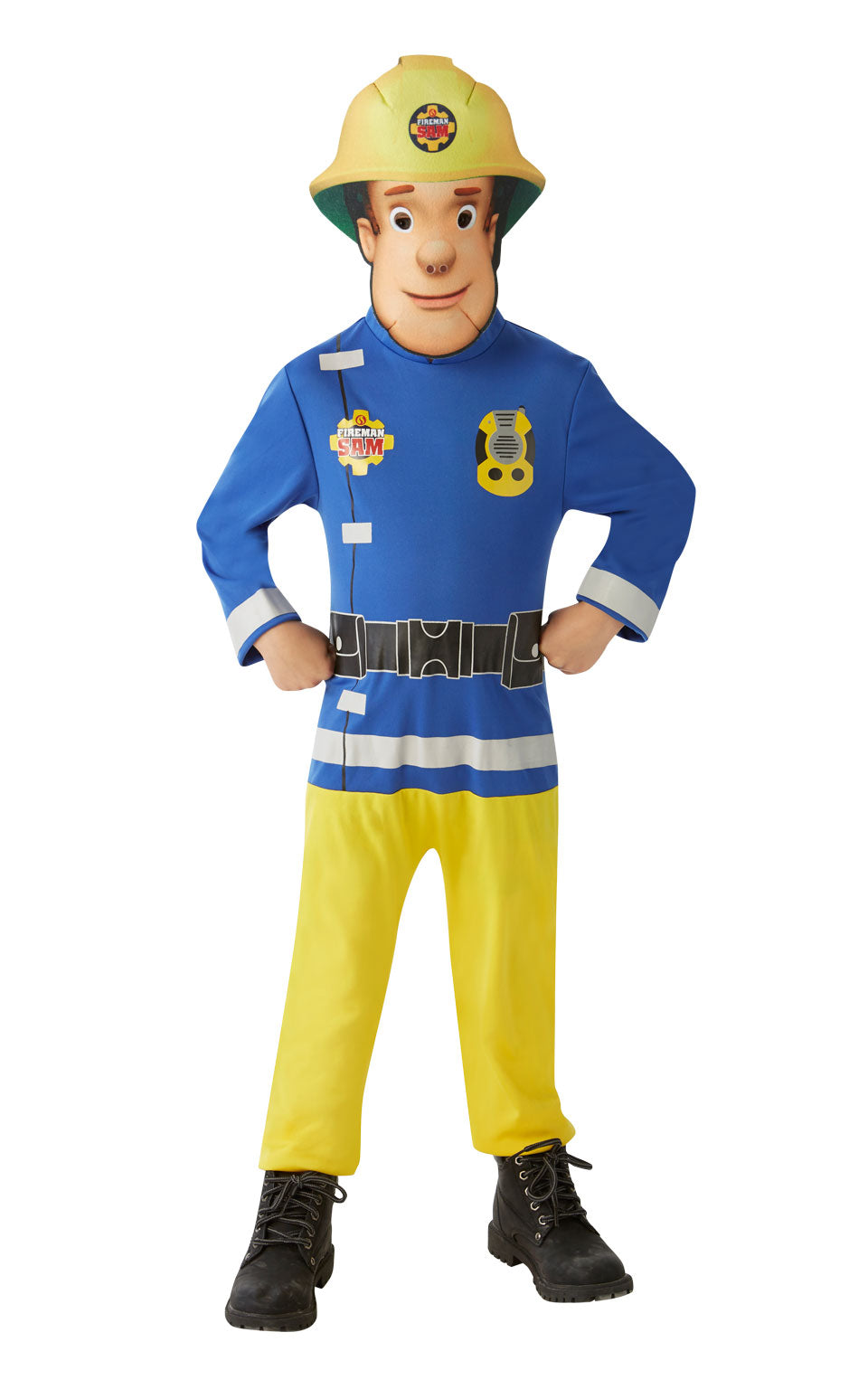 CHILD CLASSIC FIREMAN SAM Children's Fancy Dress Costume