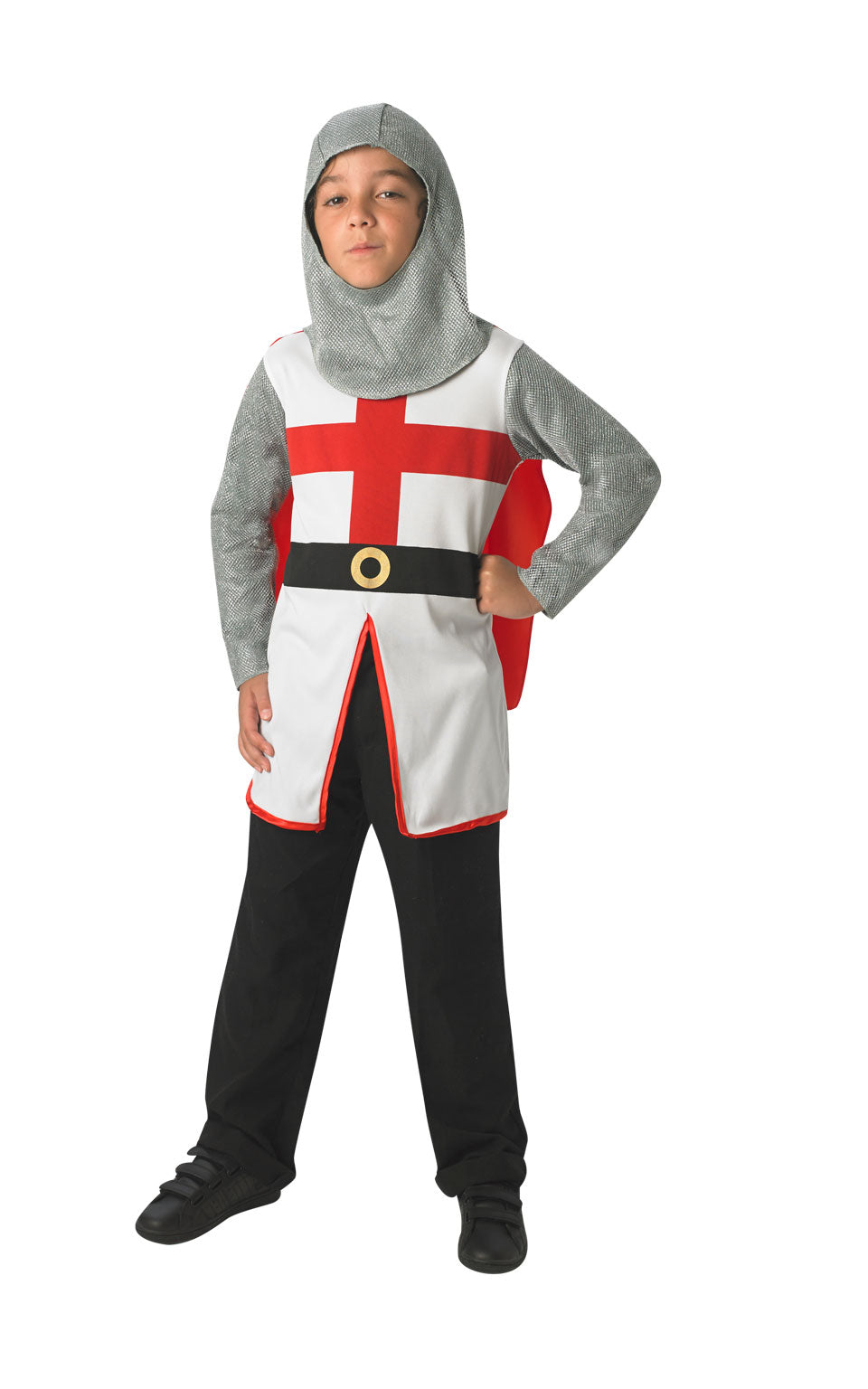 CHILD ST GEORGE KNIGHT Childrens Fancy dress costume