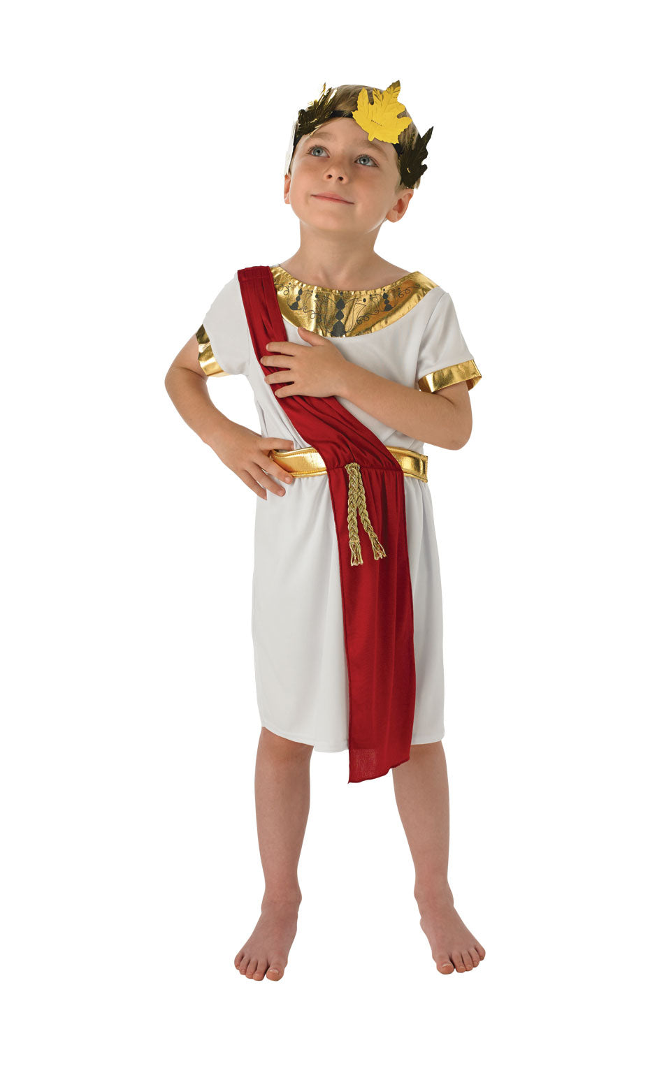 ROMAN BOY Chilrens Fancy Dress Costume