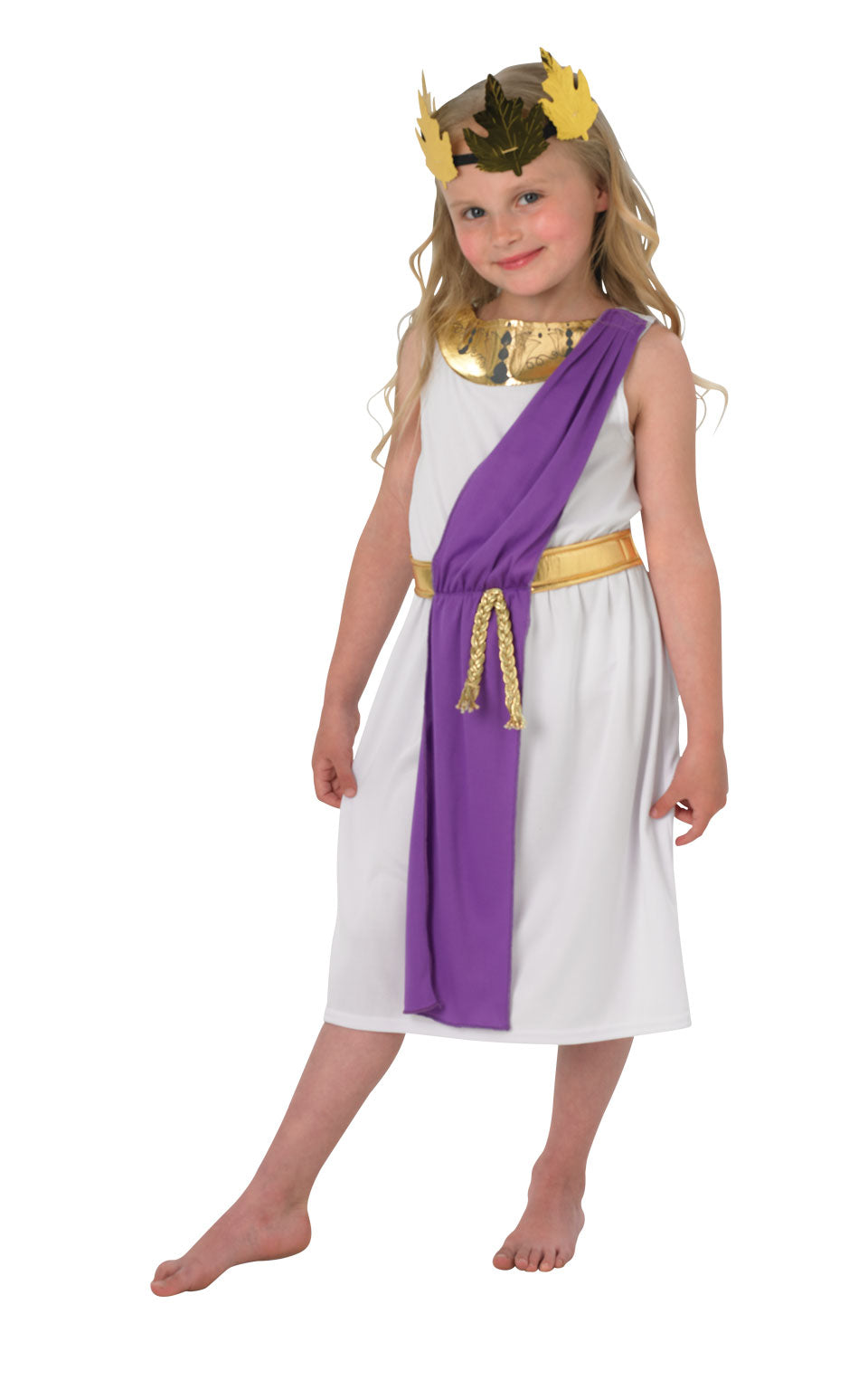 ROMAN GIRL Childrens Fancy Dress Costume