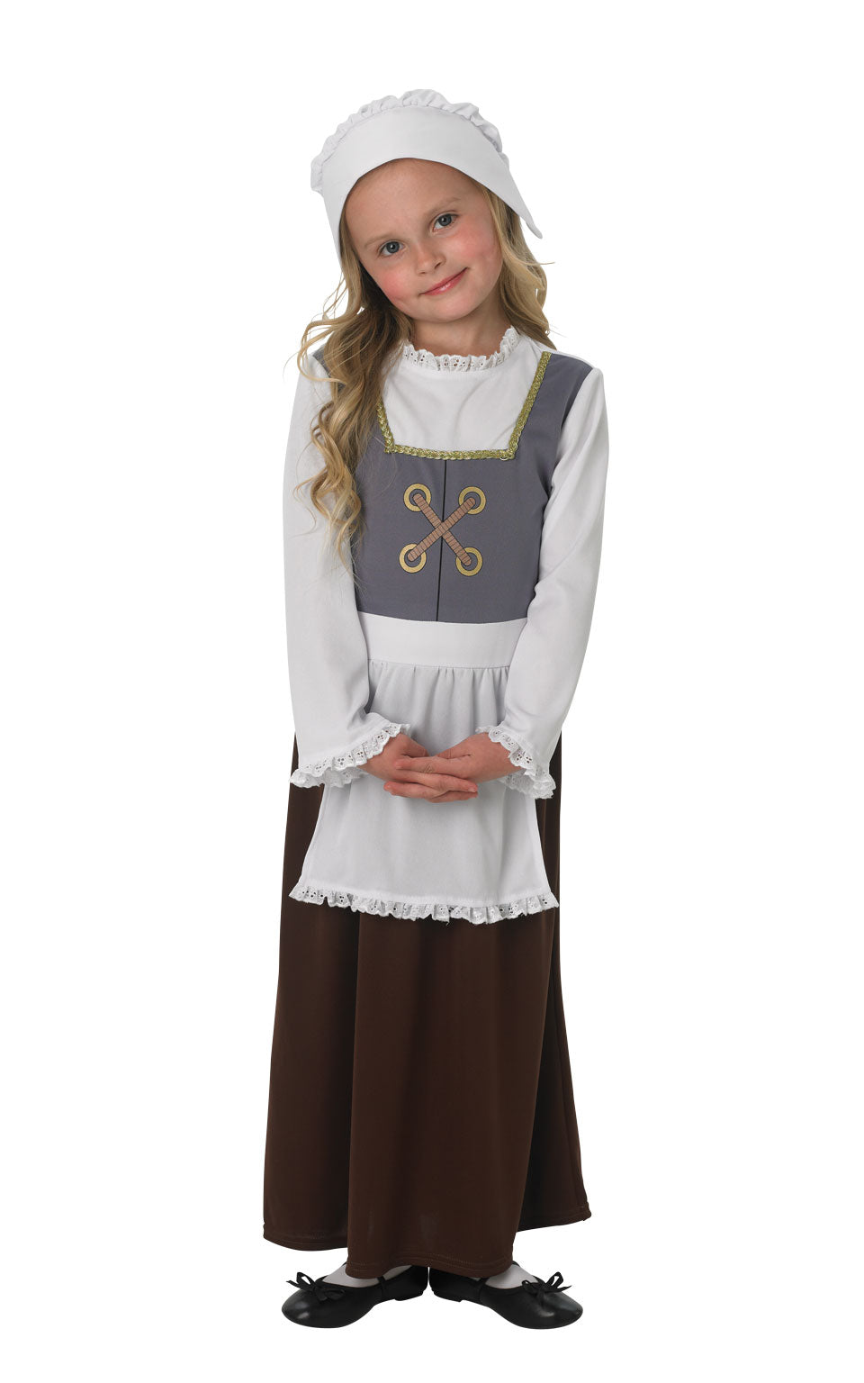 TUDOR GIRL Children's Fancy Dress Costume