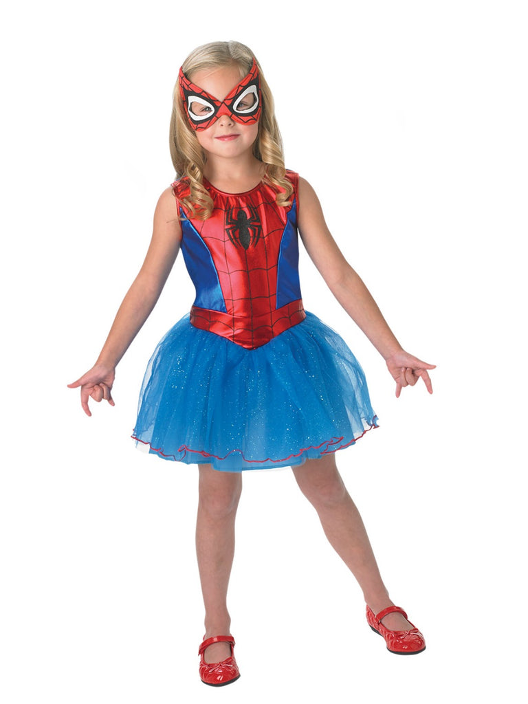 Spidergirl Fancy Dress Costume