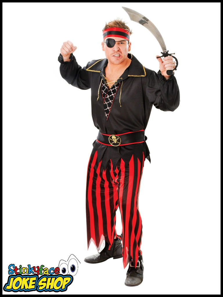 Pirate Man - Fancy Dress Costume