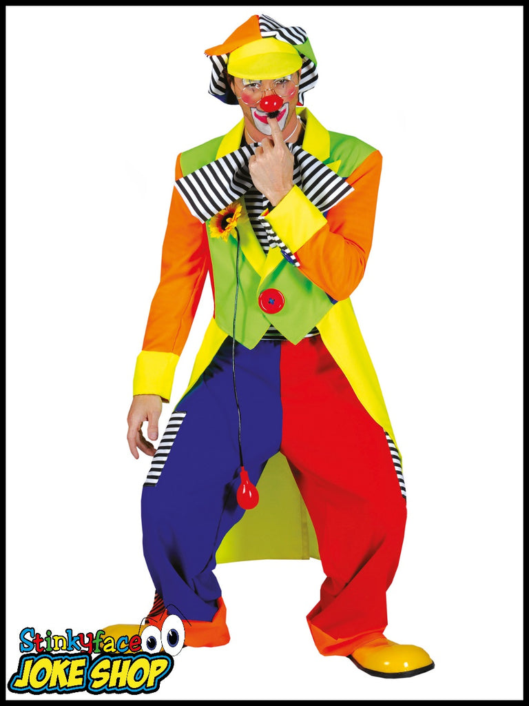 Circus Clown Fancy Dress Costume