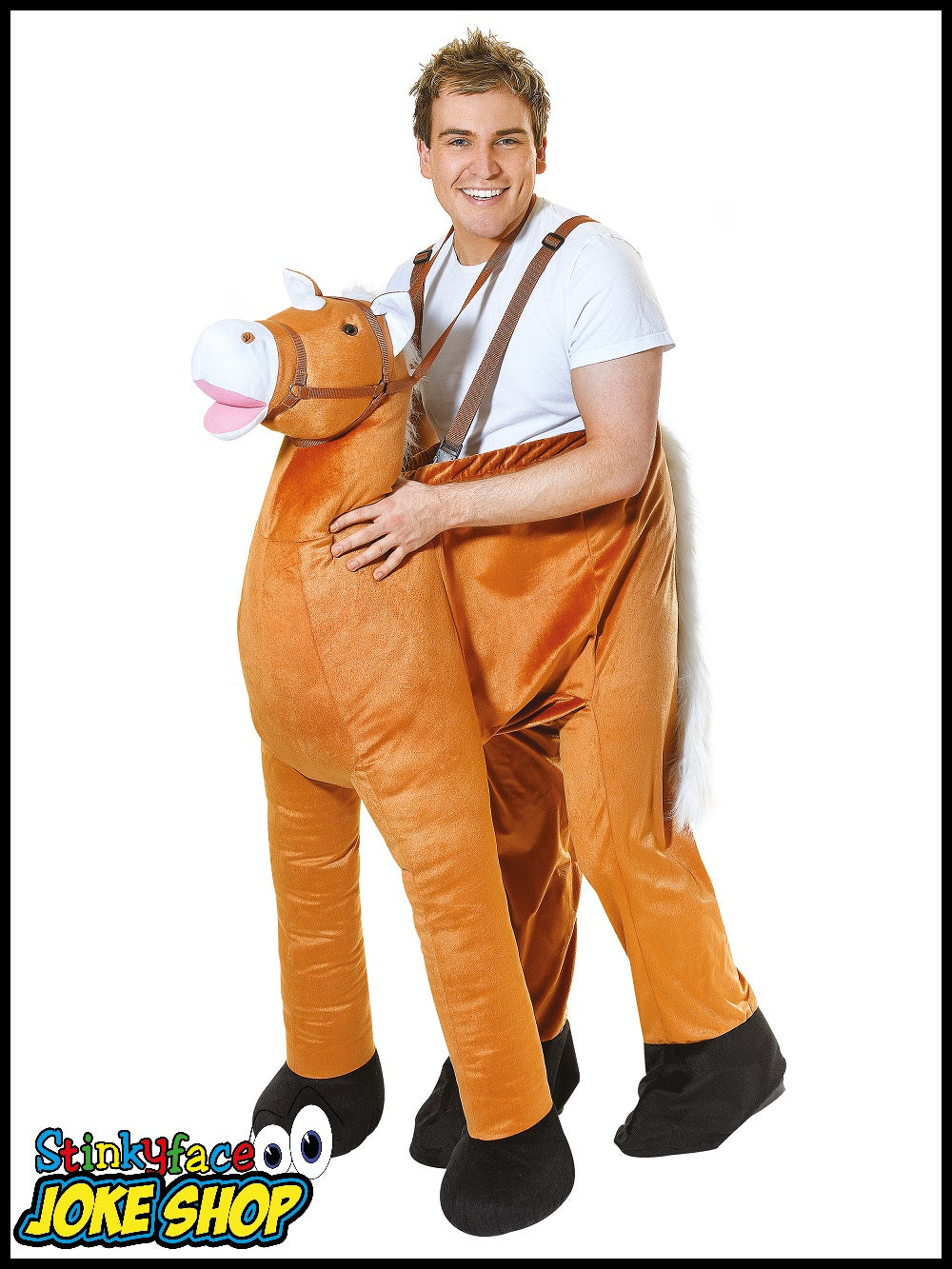 Horse Step-In Costume  sc 1 st  Stinkyface Joke Shop & Horse Step-In Funny Fancy Dress Adult Costume