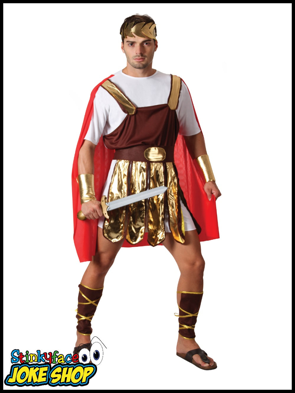 sc 1 st  Stinkyface Joke Shop & Trojan Soldier Fancy Dress Costume